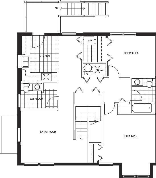 Crystal View Apartments: Crystal View TownhomesCrystal View Townhomes